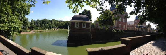Castle Moat Panorama