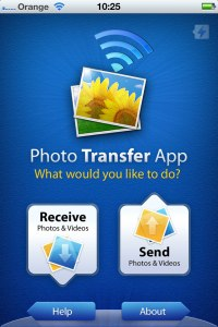 iOS Photo Transfer App