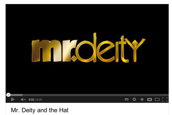 Mr. Deity Destroys PZ