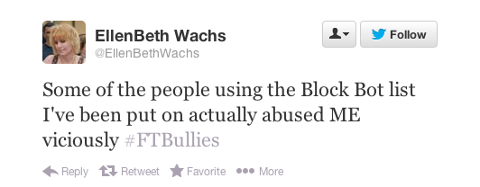 Tweet from EllenBeth Wachs