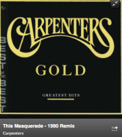 This Masquerade - Karen Carpenter