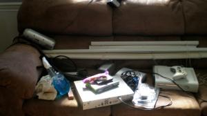 Sofa Full of Kit