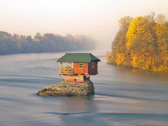 tiny home on the lake