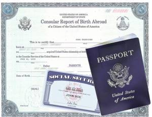 Birth Certificate and Passport for an American born abroad