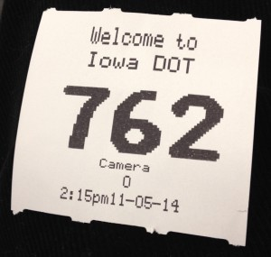 """Welcoming"" Platitudes Were as Abundant on the numbered waiting slip at the DMV as they were about the house at my sister's place of residence."