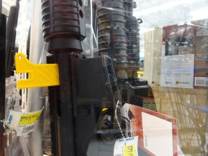 Assault Rifles at Walmart