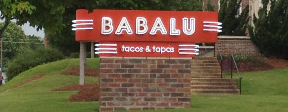 Babalu-Sign
