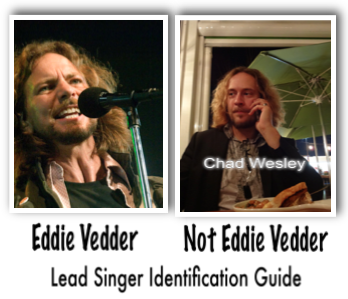 Not Eddie Vedder