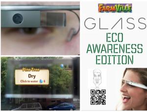 Google Glass Farmville